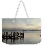 Out On The Lake Weekender Tote Bag