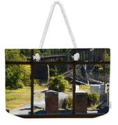 Out Our Window Weekender Tote Bag