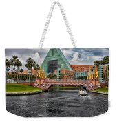Out Running The Storm At The Dolphin Resort Weekender Tote Bag