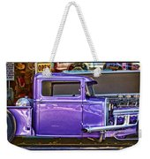 Out Shopping By Diana Sainz Weekender Tote Bag by Diana Sainz