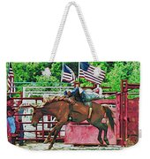 Out The Gate Weekender Tote Bag