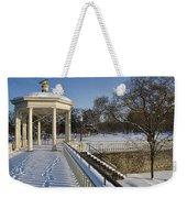 Out To The Gazebo Weekender Tote Bag