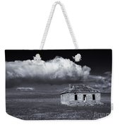 Outback Ruin Weekender Tote Bag by Mike  Dawson