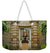 Outdoor Benches At Sewickely Pennsylvania Library Weekender Tote Bag