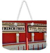 Outdoor Diner Weekender Tote Bag