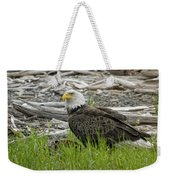 Outdoor Dining Weekender Tote Bag