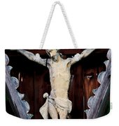Outdoor Display Of The Crucifixion Of Christ Weekender Tote Bag