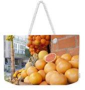 Outdoor Fruit Juice Stall  Weekender Tote Bag