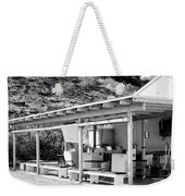 Outdoor Laundry Bw Palm Springs Weekender Tote Bag