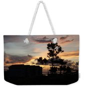 Outer Banks North Carolina Sunset Weekender Tote Bag