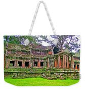 Outer Building Of Angkor Wat In Angkor Wat Archeological Park Near Siem Reap-cambodia  Weekender Tote Bag