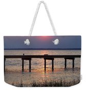 Outerbanks Nc Sunset Weekender Tote Bag