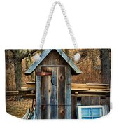 Outhouse - 5 Weekender Tote Bag by Paul Ward