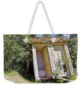 Outhouse For Two Weekender Tote Bag