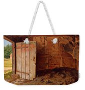 Outhouse Interior Weekender Tote Bag