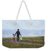 Outing In Autumn Weekender Tote Bag