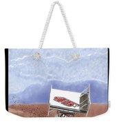 Outlaw Race Car Weekender Tote Bag