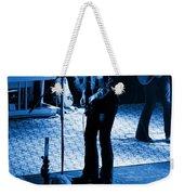 Outlaws #17 Blue Weekender Tote Bag