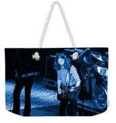 Outlaws #21 Crop 2 Blue Weekender Tote Bag