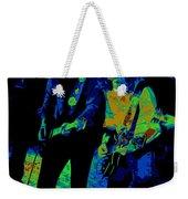 Outlaws #25 Crop 2 Art Psychedelic Weekender Tote Bag