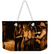 Outlaws #26 Crop 2 Art In Amber Weekender Tote Bag