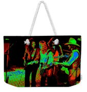Outlaws #26 Crop 2 Art Cosmic Weekender Tote Bag