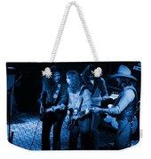 Outlaws #26 Crop 2 Blue Weekender Tote Bag