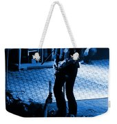 Outlaws #29 In Blue Weekender Tote Bag