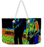 Outlaws #31 Crop 2 Art Psychedelic Weekender Tote Bag