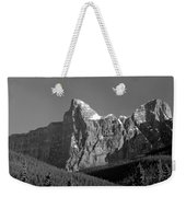 1m3621-bw-outlier Of  Mt. Murchison  Weekender Tote Bag