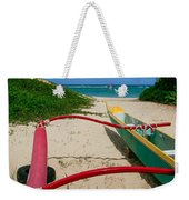 Outrigger Beach Weekender Tote Bag