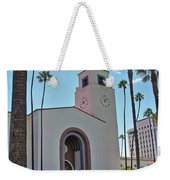 Outside Los Angeles Union Station Weekender Tote Bag