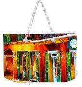 Outside Pat O'brien's Bar Weekender Tote Bag by Diane Millsap