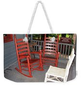 Outside The Bookstore Weekender Tote Bag