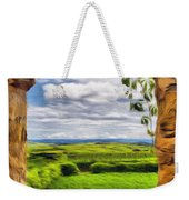 Outside The Fortress Wall Weekender Tote Bag