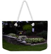 Outside The Garden  Pin-hole Photo Weekender Tote Bag