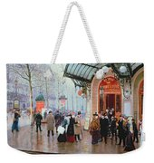 Outside The Vaudeville Theatre Weekender Tote Bag
