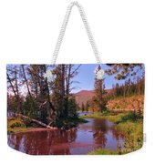 Outstanding Yellowstone National Park Weekender Tote Bag by John Malone