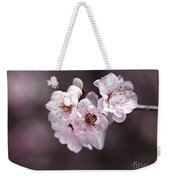 Over A Blossom Cloud Weekender Tote Bag
