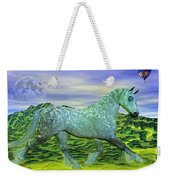 Over Oz's Rainbow Weekender Tote Bag by Betsy Knapp