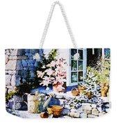 Over Sleepy Garden Walls Weekender Tote Bag