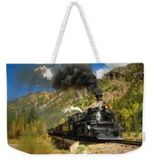 Over The Animas River Weekender Tote Bag