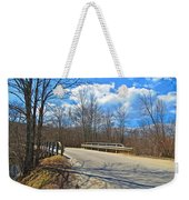 Over The Brook Weekender Tote Bag