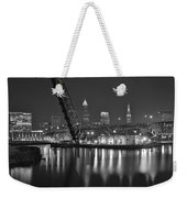 Over The Cuyahoga Weekender Tote Bag