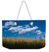 Over The Grass Weekender Tote Bag
