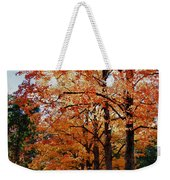 Over The Hill And Through The Trees Weekender Tote Bag