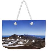 Over The Hills. Across The Fields. Weekender Tote Bag by Evelina Kremsdorf