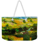 Over The Hills Weekender Tote Bag
