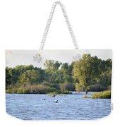 Over The Marsh Weekender Tote Bag
