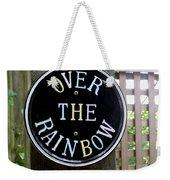 Over The Rainbow Weekender Tote Bag